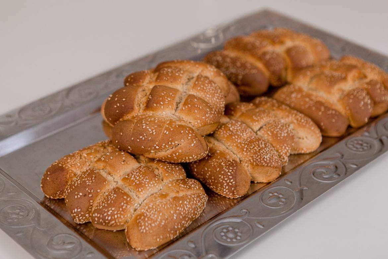 Пасхальный хлеб: «Карпаситика кулурья»