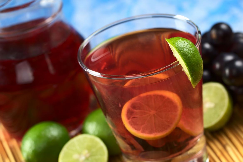 Виноградный лимонад